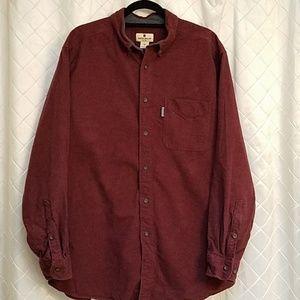 Woolrich flanneL wine XL  Ruby Heather 6433 shirt